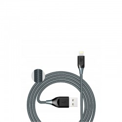 Kabel do iPhone Tronsmart LTA14 (szary, 1.2m, lightning)